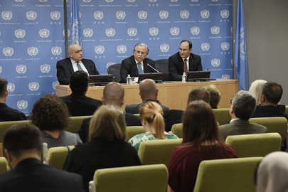 Press Conference by Arab Representatives on Report on Children and Armed Conflict