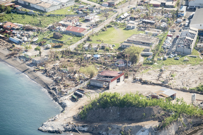 Secretary-General Visits Dominica to Survey Hurricane Damage