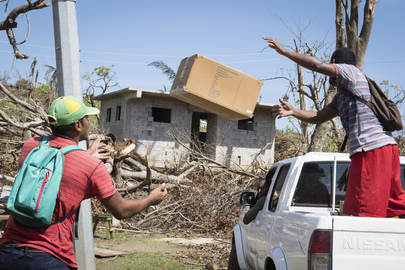 Secretary-General Visits Dominica in Aftermath of Hurricane Maria