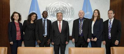 Secretary-General Meets Representatives of Non-Governmental Organizations