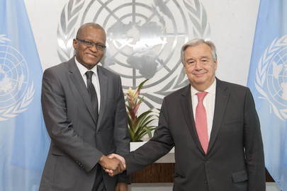 Secretary-General Meets Special Representative for MONUSCO