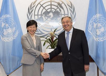 New UN High Representative for Disarmament Sworn In