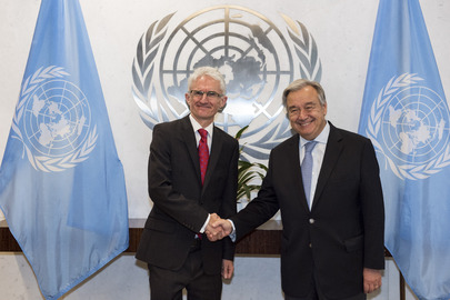 New UN Emergency Relief Coordinator Sworn In