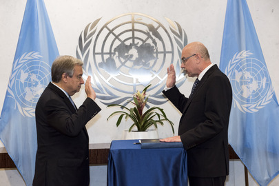 Head of UN Counter-Terrorism Office Sworn In