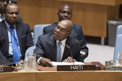 Security Council Considers Situation Concerning Haiti