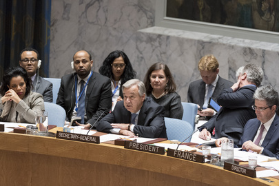 Security Council Discusses Famine Threat in South Sudan, Somalia, Yemen, Nigeria
