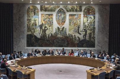 Security Council Considers Maintenance of International Peace and Security