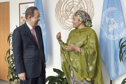 Deputy Secretary-General Meets Former UN Chief
