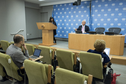 Press Conference on Protection of Rights of Migrant Workers