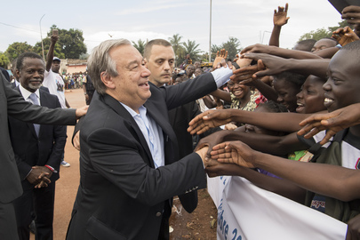 Secretary-General Visits Central African Republic
