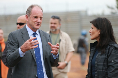 Permanent Representative of United States Visits South Sudan