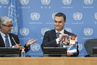Director of Global Education Monitoring Report of UNESCO Addresses Press