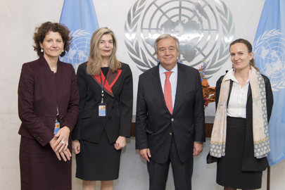 Secretary-General Meets Co-Chairs of Group of Friends for Protection of Journalists
