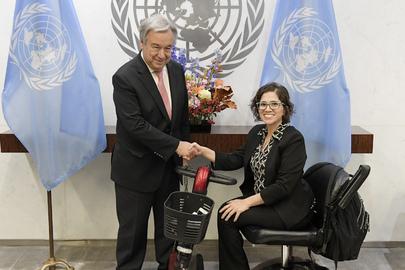 Secretary-General Meets Coordination Committee of Special Procedures of HRC