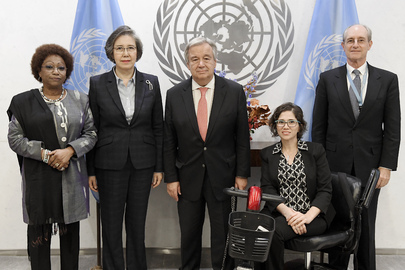 Secretary-General Meets Coordination Committee of Special Procedures of HRC