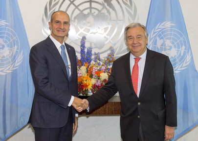 Secretary-General Meets Senior Security Advisor of UNSMIL