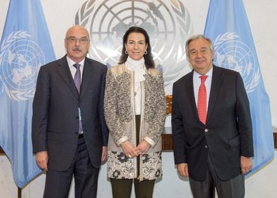 Secretary-General Meets Heads of Counter-Terroroism Entities