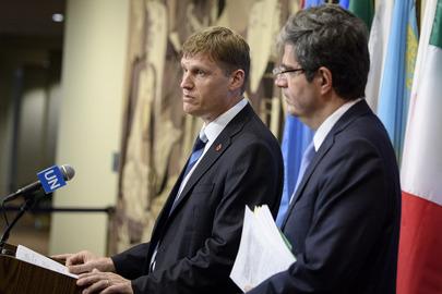 Representatives of United Kingdom, France Speak to Press on Myanmar Situation