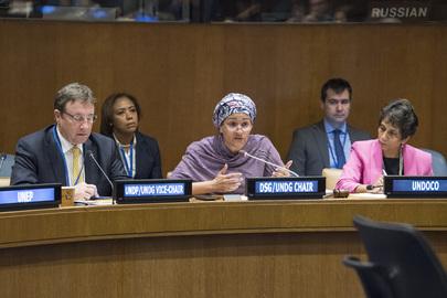 Deputy Secretary-General Speaks at UNDG Meeting