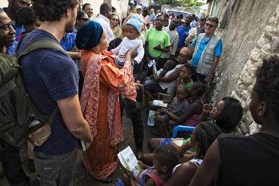 Deputy Secretary-General, UN Envoy Visit Haiti