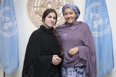 Deputy Secretary General Meets Yazidi Survivor