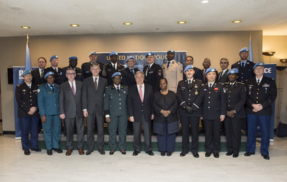 Secretary-General Meets Heads of UNPOL Components