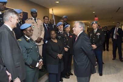 Secretary-General Meets Head of UNPOL Components