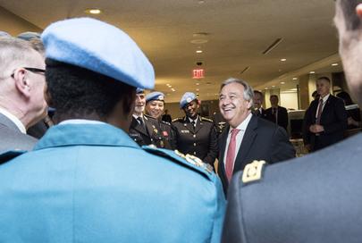 Secretary-General Meets Heads of UNPOL Components