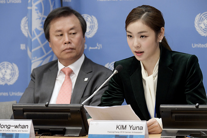 Press Briefing on Building a Peaceful World Through Sport, Olympic Ideal