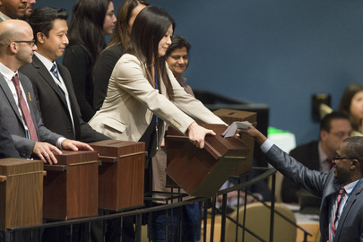 General Assembly, Security Council Continue Elections for Fifth Vacancy on World Court