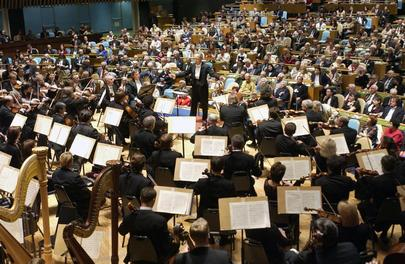 Special Event: Saint Petersburg Philharmonic Orchestra Holds Concert in General Assembly Hall
