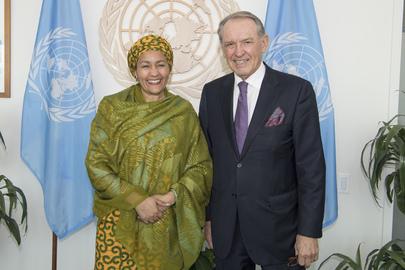 Deputy Secretary-General Meets Former Deputy Secretary-General