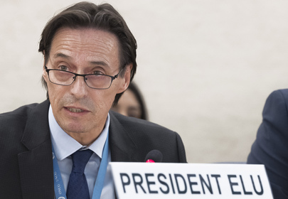 Election of President of the Human Rights Council