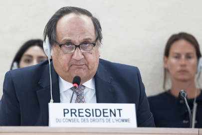 Election of President of Human Rights Council
