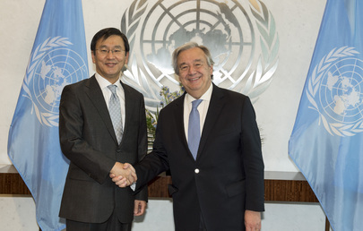 Secretary-General Meets President of International Tribunal for Law of the Sea