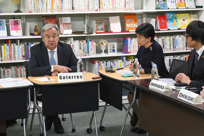 Secretary-General Meets Japan Civil Society Network on SDG