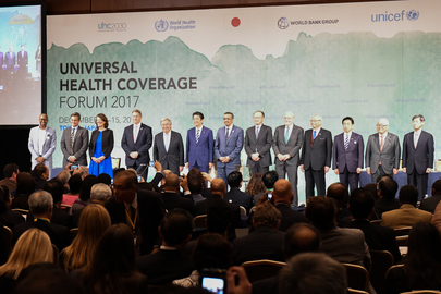Secretary-General Attends Universal Health Coverage Forum