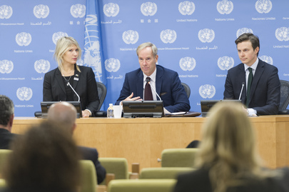 Press Briefing by Chair of Security Council Children and Armed Conflict Working Group