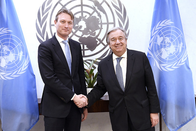 Secretary-General Meets Foreign Minister of the Netherlands