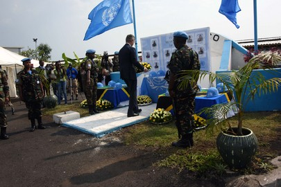 MONUSCO Honours Fallen Tanzanian Peacekeepers