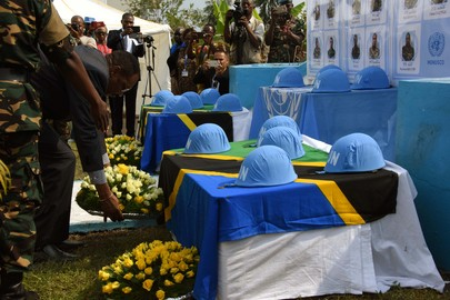 MONUSCO Honours Fallen Tanzanian Peacekeepers