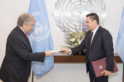 New Permanent Representative of Venezuela Presents Credentials
