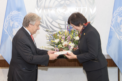 New Permanent Representative of Poland Presents Credentials