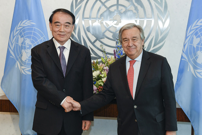 Secretary-General Meets Deputy Foreign Minister of China