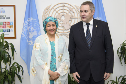 Deputy Secretary-General Meets Deputy Prime Minister of Slovenia