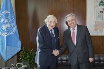 Secretary-General Meets Former President of World Bank