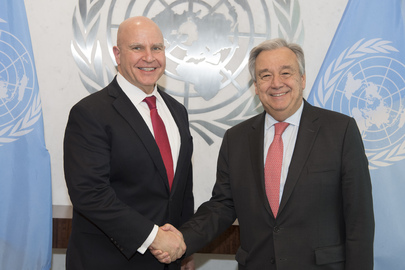 Secretary-General Meets US National Security Adviser