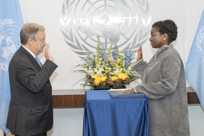 New Head of UNFPA Sworn In