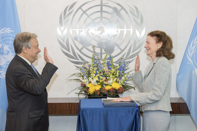 New Head of UNICEF Sworn In