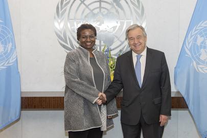 New Head of UNFPA Sworn In